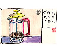 EDiM #8  draw a coffeepot Photographic Print