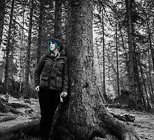 Blue Haired Girl  by Luke Thomas McCarthy
