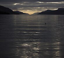 Loch Ness Sunset  by Luke Thomas McCarthy