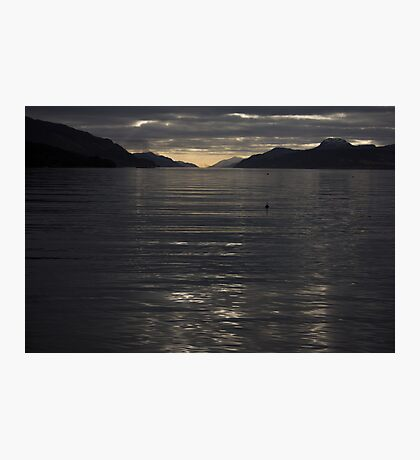 Loch Ness Sunset  Photographic Print