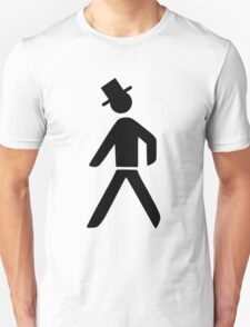 Geeky Man with hat T-Shirt