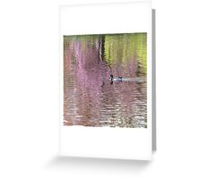 Into the Pink Greeting Card