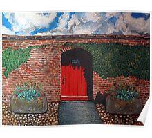 Sledmere walled garden Poster