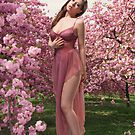 Jessi and the Cherry Blossoms by Swede