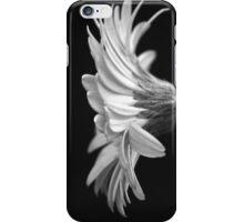 Black and White Gerbera  iPhone Case/Skin