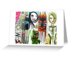 sounds of earth Greeting Card