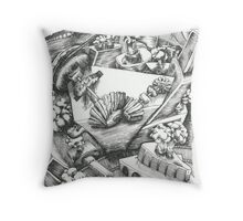 San Francisco Steamworks Throw Pillow