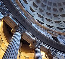 Pantheon interior, Rome, Italy by buttonpresser