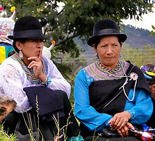 Saraguro Ladies by Al Bourassa