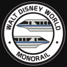 WDW Monorail Blue by AngrySaint