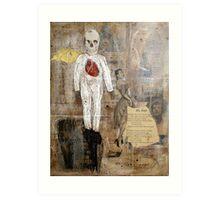 ANGELES DEL LATIN QUARTIER (angels of the latin quarter) Art Print