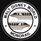 WDW Monorail Orange by AngrySaint