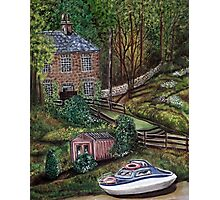 House on the River Derwent Photographic Print
