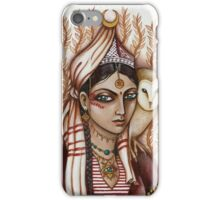 The Owl Keeper from Catanzaro iPhone Case/Skin