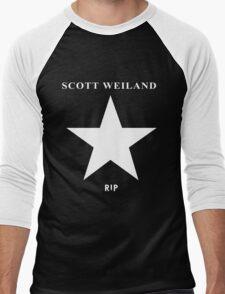 Scott Weiland - Rest In Peace - Stone Temple Pilots Four Logo Men's Baseball ¾ T-Shirt