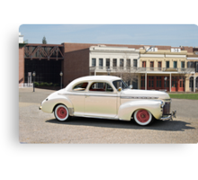 1941 Cheverolet Business Coupe Canvas Print