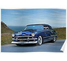1951 Ford Custom Convertible Poster