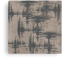 Audio Tokens Canvas Print