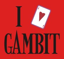 I Heart Gambit by NevermoreShirts