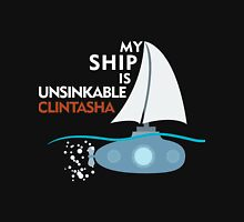 My Ship is unsinkable - Clintasha Unisex T-Shirt
