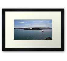 A View to Mount Batten Framed Print
