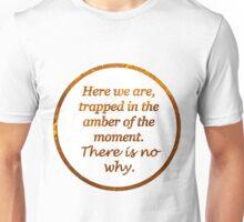 Kurt Vonnegut Amber Transparency Quote Unisex T-Shirt