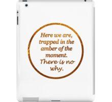 Kurt Vonnegut Amber Transparency Quote iPad Case/Skin