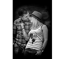 The Look Of Love Photographic Print