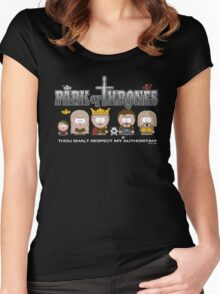 Park of Thrones Women's Fitted Scoop T-Shirt