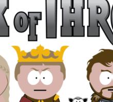 Park of Thrones Sticker