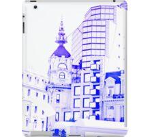 Drawn city. iPad Case/Skin