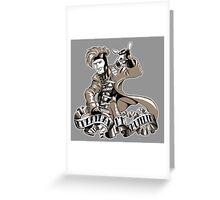 Shufflin Greeting Card