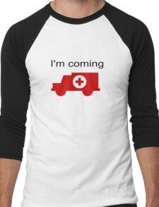 funny Men's Baseball ¾ T-Shirt