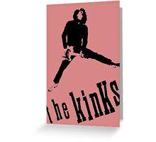 The Kinks Dave Davies Greeting Card