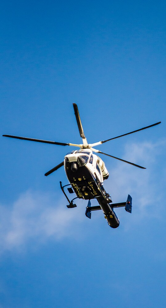 Police Helicopter  by ConnorTaylor