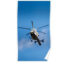 Police Helicopter  Poster