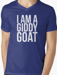 I am a Giddy Goat Mens V-Neck T-Shirt