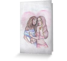 LOVING ONLY YOU Greeting Card