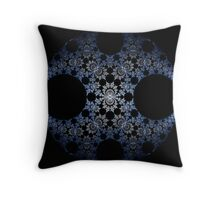 Tempered Steel Disk Throw Pillow