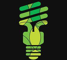 Green energy light bulb Unisex T-Shirt