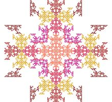 Byzantine Tile by Ross Hilbert