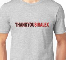 Sir Alex - Thankyou Unisex T-Shirt