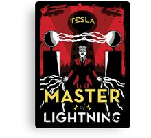Master of Lightning Canvas Print