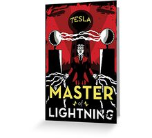 Master of Lightning Greeting Card