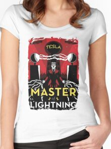 Master of Lightning Women's Fitted Scoop T-Shirt