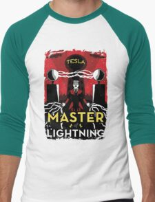 Master of Lightning Men's Baseball ¾ T-Shirt