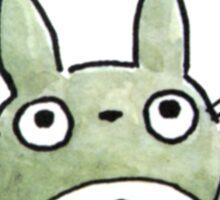 Totoro Flowers Sticker