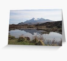 Cuillin hills  Greeting Card