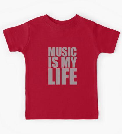 Music Is My Life Kids Tee