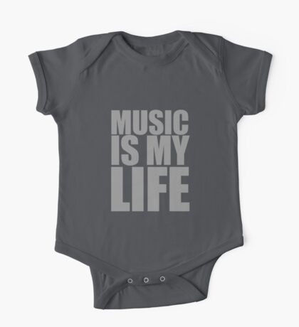 Music Is My Life One Piece - Short Sleeve